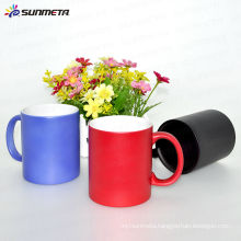 heat sensitive color changeing mug hot cold